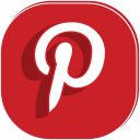 social, communication, media, pinterest, internet, connection icon