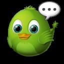 alert, bird icon