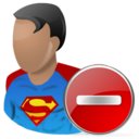 Delete, Superman icon