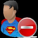 Delete, Superman icon