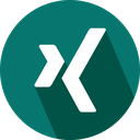 xing, social network, logo icon