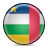 african, republic, central, flag icon