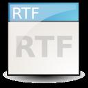 application, rtf icon