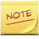 post it, postit, note icon