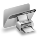 folder,printer icon
