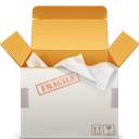 Delivery, Fragile icon