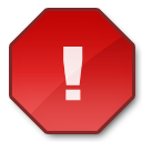 exclamation, warning, error, alert, wrong icon