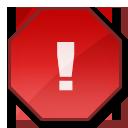 exclamation, warning, error, alert, wrong icon