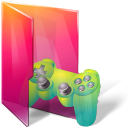 folders saved games icon