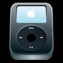 Apple, Black, Ipod icon