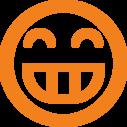 grin,emot icon