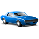 car, camaro, sports car icon