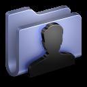 User Blue Folder icon