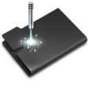 Laser Black icon