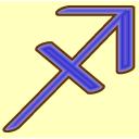 sagittarius,archer icon