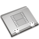 film, movie, video, folder icon