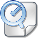 paper, apple, document, file, quicktime icon