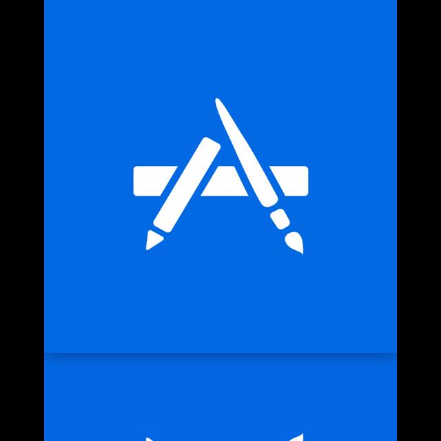 mac, store, app, alt, mirror icon