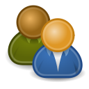 system, users icon