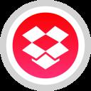 social, logo, dropbox, media icon
