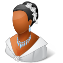Wedding Bride Dark icon