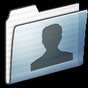 Folder, Graphite, Stripe, Users icon