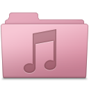 Music Folder Sakura icon