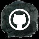github, octocat, social, social media, git icon