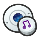 disk, disc, audio, save, cd icon