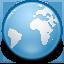 internet, explorer, globe, 64 icon