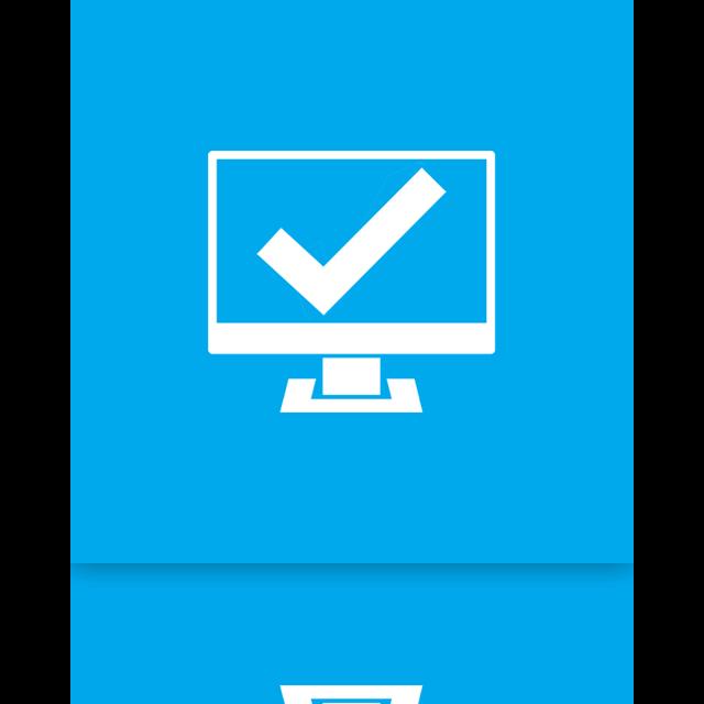 mirror, system icon