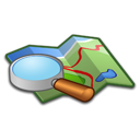 map, search, location, locate icon