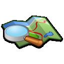 map, search, location, locate icon