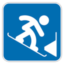 , Parallel, Slalom, Snowboard icon