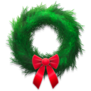 holiday,wreath icon