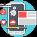 creative, web development, process, html, technology, code, computer icon