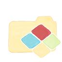 ak, windows, folder, vanilla icon