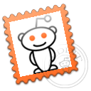 postage, reddit, stamp icon