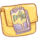 Hp folder note icon