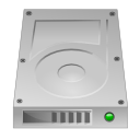 hdd, unmount icon