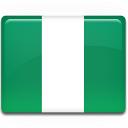 nigeria, country, flag icon