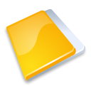 close, yellow, cancel, no, folder, stop icon