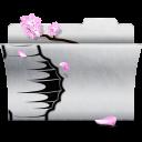 favorite, white, folder icon