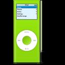 nano, ipod, vert icon