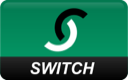 switch, curved icon