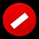 stop, no, cancel, close icon