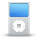 multimedia, apple, player, ipod icon