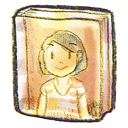 face, book icon