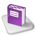 Book, Color, Ms, Onenote icon