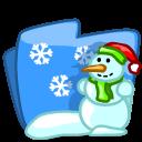 folder winter icon